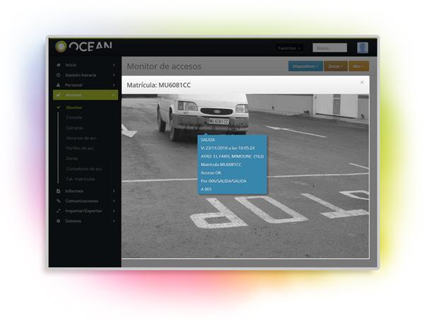 Control de Accesos Ocean Software